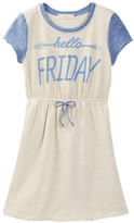 Soprano Hello Friday French Terry Dress (Big Girls)