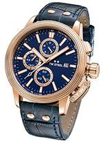 TW Steel 'CEO Adesso' Quartz Stainless Casual Watch, Color:Blue (Model: CE7015)