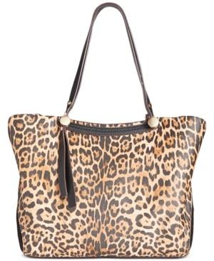 Sondra Roberts Leopard Satchel