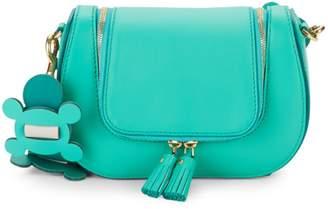 Anya Hindmarch Small Bathurst Leather Saddle Top Handle Bag