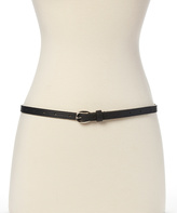 Betsey Johnson Black & White Lace Reversible Belt
