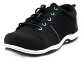 Easy Street Shoes Buffy W Round Toe Leather Sneakers.