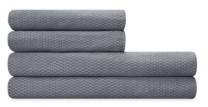 Calvin Klein Grid Formation Sheet Set, King Bedding