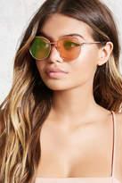 Forever 21 Round Mirrored Sunglasses