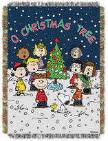 "Peanuts 48"" x 60"" Triple Woven Tapestry Throw"