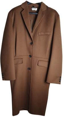 Jil Sander Camel Cashmere Coats