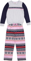 Peter Alexander peteralexander Girls Fairisle Pj Set