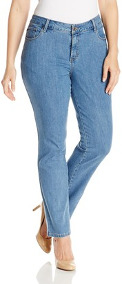 Lee Women's Plus-Size Classic Fit Monroe Straight Leg Jean