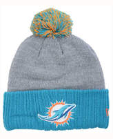New Era Miami Dolphins Heather Stated Knit Hat