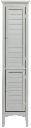 Elegant Home Fashions Glancy Linen Towel Cabinet Grey
