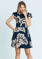 Karen Zambos Coral Haley Dress