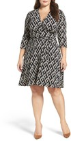 Leota Plus Size Women's Wrap Dress