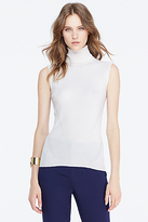 Diane von Furstenberg Sutton Sleeveless Turtleneck Sweater