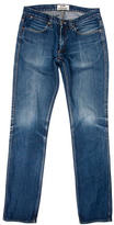 Acne Studios Flat Front Skinny Jeans