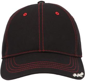 Alexander McQueen Logo Embroidered Cap