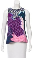 Peter Pilotto Digital Print Sleeveless Top