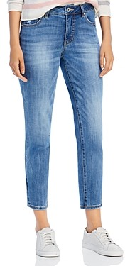 Jag Jeans Reese Vintage Straight-Leg Jeans in Aged Indigo