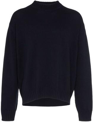 Jil Sander chunky knit wool jumper