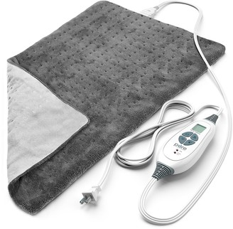 Pure Enrichment PureRelief XL - King Size Heating Pad - Gray