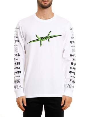 Diesel T-Just-LS-B2 Long-Sleeve T-Shirt