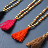 Bohemia Aurora Gold Tassel Necklace
