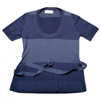 Sonia Rykiel Blue Wool Top for Women