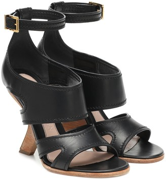 Alexander McQueen No.13 leather sandals