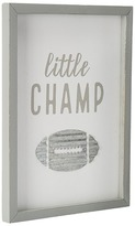 Mud Pie Little Champ Plaque Accessories Travel