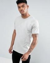 Nike Large Logo Print T-shirt In Grey 897143-042