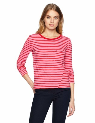 Pam & Gela Women's Long Sleeve Pocket Tee