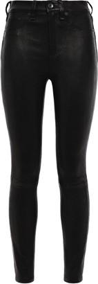 Rag & Bone Stretch-leather Skinny Pants