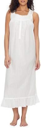 Eileen West Dobby Stripe Dream Ballet Woven Nightgown