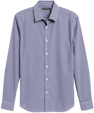 Banana Republic Untucked Slim-Fit Non-Iron Dress Shirt
