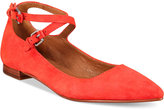 Frye Women's Sienna Cross Ballet Flats Women's Shoes