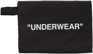 Off-White Black Underwear Pouch