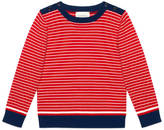 Gucci Baby wool cardigan with Web