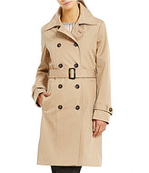 Calvin Klein Rain Double Breasted Trench Coat