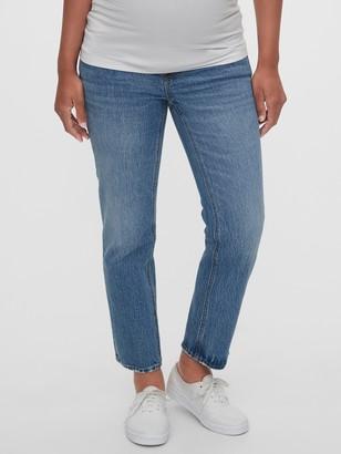Gap Maternity Full Panel Cheeky Straight Jeans