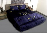 Jaipur Textile Hub Satin Bed Sheet Without 2 Pillow Covers - , Sd_jth_2693_bds