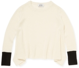 Autumn Cashmere Ribbed Cashmere & Wool Sweater