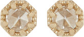 Grace Lee Women's Petite Crown Bezel Diamond Studs