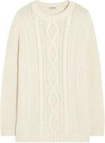 Miu Miu Cable-knit sweater
