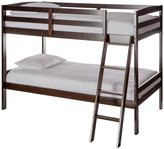 Dream On Me Taylor 2-in-1 Twin Over Twin Bunk Bed, Espresso