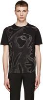 Versus Black Studded Lion T-Shirt