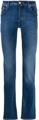 Jacob Cohen Low-Rise Slim-Fit Jeans