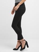Gap Mid rise Sculpt ever black true skinny jeans