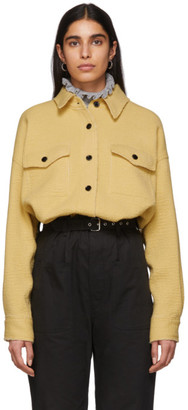 Isabel Marant Yellow Dennao Shirt