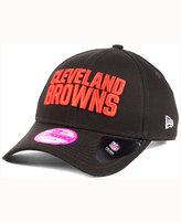 New Era Women's Cleveland Browns Glitter Glam 2.0 9FORTY Cap