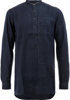 Dries Van Noten mandarin neck shirt