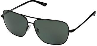 Spy Optic Tatlow (Matte Black/HD Plus Gray Green Polar) Fashion Sunglasses